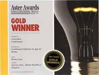 Aster Awards Winner 2011