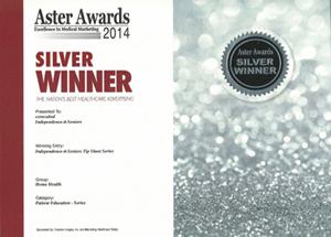 Aster Awards 2014 Silver