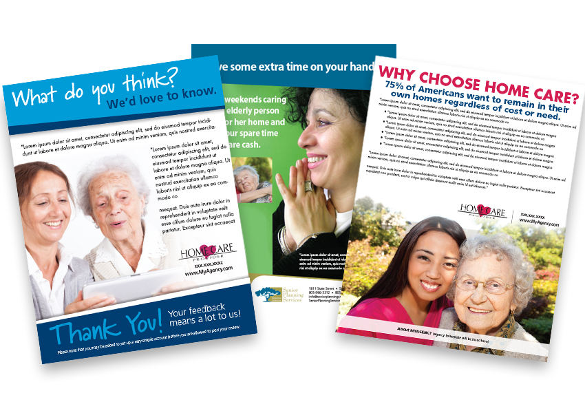 home care flyers