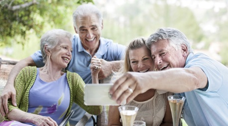 how to market home health care services - senior socialization