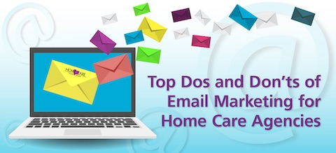 home care email marketing