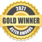 2021 Aster Awards Gold Winner